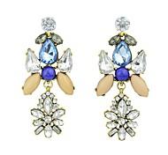 New Coming Wholesale Beautiful Long Rhinestone Earrings