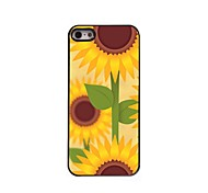 Sunflower Design Aluminum Hard Case for iPhone 5/5S