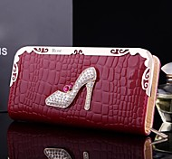 faux sac de cuir de métal de cadeaux personnalisés femmes (moins de 10 caractères)