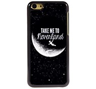 leve-me para a Terra do Nunca hard case de alumínio design para iphone 5c