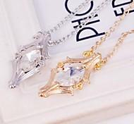 thor crytal pingente de colar (1pc) (ouro, prata)