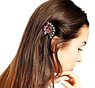 Vintage Crystal Fan Flower Gold Hairband Hair accessories Crown Hair jewelry Headband Styling Tools Head Chain