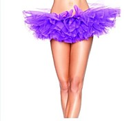 Tulle Bouffant Tutu Women's Burlesque Party Dance Club Skirt
