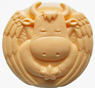 Cow Animal Shaped Fondant Cake Chocolate Silicone Mold Cake Decoration Tools,L9.5cm*W9.5cm*H3.5cm