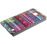 Deep Colorful Folk Style Pattern PC Hard Back Cover Case with Touch Pen for Nokia Lumia N630