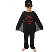 Masked Hero Bat Kids Halloween Costume