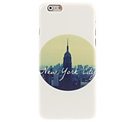 Life In New York City Design Hard Case for iPhone 6