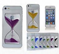 toophone® Joyland Zeit kristall lucency Treibsand Sand Uhr zurück Abdeckungsfall für iphone 6 (Farbe sortiert)