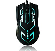 Beitas BM-006  USB Wired Gaming Mouse With Colorful LED Light Luminous