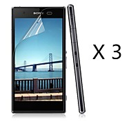 (3 pcs) High Definition Screen Protector for Sony Xperia Z1 Compact M51w