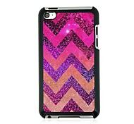 Ripple Leather Vein Pattern Hard Case for iPod touch 4