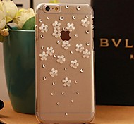 Meteor shower Resin flowers Csae for iPhone6 phone shell Csae for iPhone6 Girls