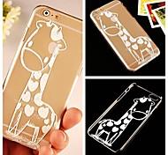 Giraffenmuster transparent Argument für iphone 6