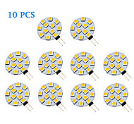 10 pcs G4 1.5W 12 SMD 5050 70 LM Warm White / Cool White LED Spotlight AC 12 V