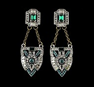 2015  New Coming Fashion Rhinestone Drop Earrings