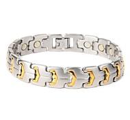 "Fahion 316L Stainless Steel Tennis Bracelet  8.5"""