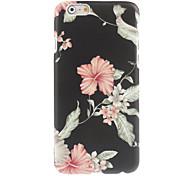 hard case flower design elegante para o iPhone 6