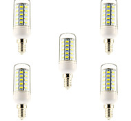 5 pcs E14/G9/E26/E27 10 W 48 SMD 5730 1000 LM Warm White/Natural White Corn Bulbs AC 220-240 V