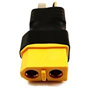 No Wires Connectors/Plug Male T-Plug to Male XT60 (10PCS/Bag)