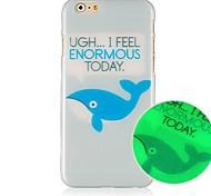 кит рисунок просвещаемая трудно чехол для Iphone 6