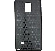 patrón de vuelta casos de la cubierta OEM para Samsung Galaxy Note 4 (colores surtidos)