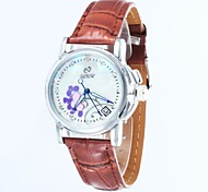 Women's Skeleton Dial  Leather Strap Automatic Mechanical  Watch(Assorted Colors)