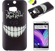 caso duro denti neri modello pc e supporto del telefono per un htc (M8)