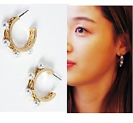 Korea Fashion Pearl Earrings