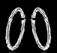 Ohrring,KreolenSchmuck 2 Stück Silber