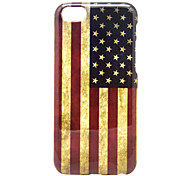 Bandeira do caso macio padrão dos Estados Unidos para iphone 5c