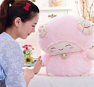 día pequeña oveja blanca cordero muñeca muñecos de peluche de San Valentín (28cm)