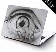 The Eye Drawing Design Full-Body Protective Plastic Case for 11-inch/13-inch New Mac Book Air