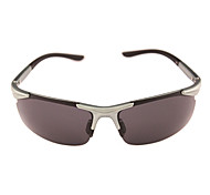 Sunglasses Men / Women / Unisex's Classic / Sports / Fashion / Sunglass Style Wrap Gray Cycling Half-Rim