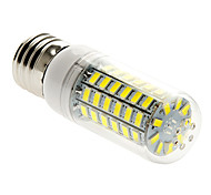 E26/E27 15W 69 SMD 5730 800-1000 lm Warm White / Cool White T LED Corn Lights AC 220-240 V