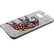 Für HTC Hülle Muster Hülle Rückseitenabdeckung Hülle Elefant Hart PC HTC
