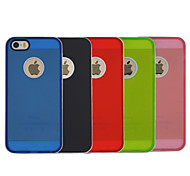 TPU+PC Two in One Back Cover Case for iPhone 5/5S(Assorted Colors)