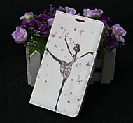 Fashion Dancers PU Full Body Case with Stand for Samsung Galaxy S5 I9600