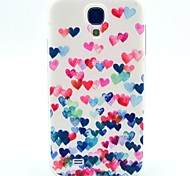 Love Dancing Pattern TPU Soft Case for S4 I9500