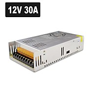 SPD-350W 12V30A CCTV Accessories Camera system Power Supply Transformer Metal - Silver (AC 110-220V)