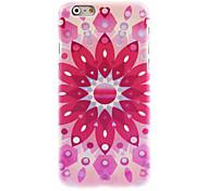 Pink Lotus Design Hard Case for iPhone 6