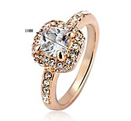 Party Ring Vintage Golden Ring Crystal Lady Golden Spanish Gothic Rings For Woman Gold