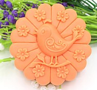 Bird Animal Flower Shaped Fondant Cake Chocolate Silicone Mold Cake Decoration Tools,L10.1cm*W10.1cm*H3.9cm
