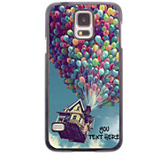 Personalized Phone Case - Balloon Design Metal Case for Samsung Galaxy S5 I9600