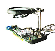 LED-Licht Lupe helfende Hand Hilfsklemme Krokodilklemme stehen PCB-Reparatur-Tools