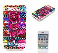 Hipster Pink Dreamcatcher Neon Andes Aztec Pattern Ultra-Thin Case for Apple iPhone 4/4S