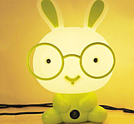 20W Glasses Rabbit Cute Cartoon Small Table Lamp 220V(Assorted Colors)