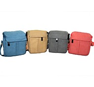 dengpin camera canvas caso messenger bag a tracolla per sony a5100 A6000 canon eos m2 panasonic GF6 Samsung NX3000