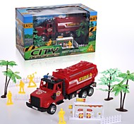 Hight Quality Toy Car for Children Friction Truck Set with Tools The Fire Fighting Theme 20142-9