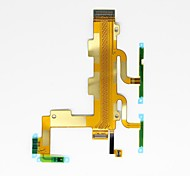 Replacement Power And Volume Button Flex Cable with Microphone Flex for Sony C3 S55T S55U