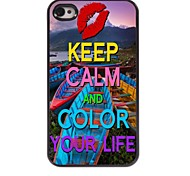 Colorful Your Life Design Aluminum Case for iPhone 4/4S